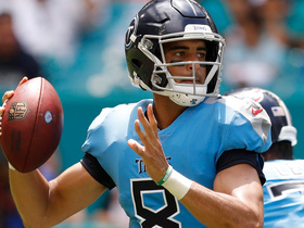 Marcus Mariota throws 31-yard pass to Luke Stocker