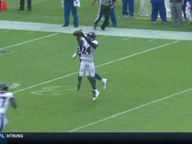 Brandon Carr intercepts pass intended for Kelvin Benjamin