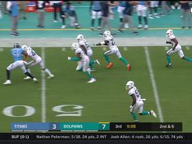 Reshad Jones makes diving INT and returns for 26 yards