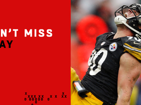 Can't-Miss Play: T.J. Watt gets UP to block Browns' would-be game-winning FG