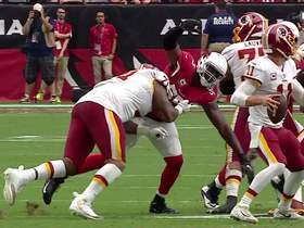Alex Smith connects with Jordan Reed for 22 yards