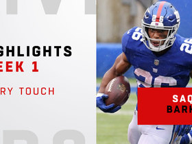 Every Saquon touch from his debut | Week 1