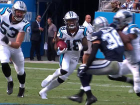 Damiere Byrd breaks away from multiple Cowboys on 30-yard punt return