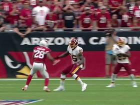 Chris Thompson accelerates for 23-yard gain off screen pass