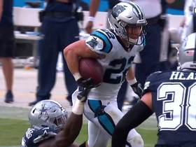 McCaffrey slips multiple tackles on 14-yard reception