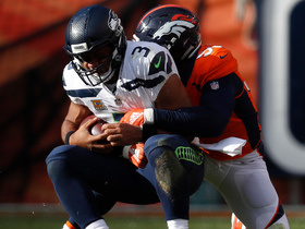 Von Miller chases down Russell Wilson for a loss of 13 yards