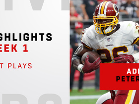 A.P.'s best plays from Redskins debut | Week 1