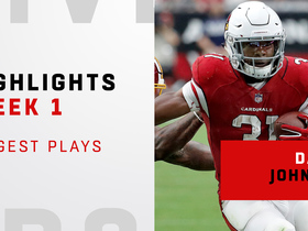 David Johnson's biggest plays from his return | Week 1