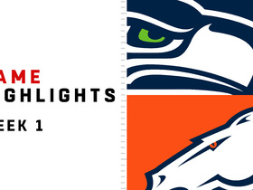 Seahawks vs. Broncos highlights | Week 1