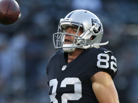 Jordy Nelson makes his first catch as a Raider