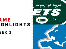 Jets vs. Lions highlights | Week 1