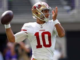 What should we make of Garoppolo's three INTs in Week 1?