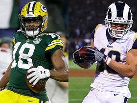 Better fantasy option: Randall Cobb or Cooper Kupp?