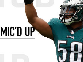 Mic'd Up: Jordan Hicks reacts to Philly Special 2.0 vs. Falcons in Week 1