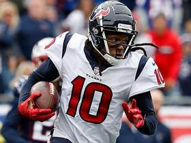Will DeAndre Hopkins finish outside the top five wide receivers in Week 2?