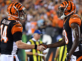 Hat trick! A.J. Green catches third TD of the first half
