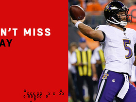 Can't-Miss Play: Flacco dissects three defenders on 45-yard pass