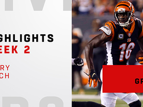 Every A.J. Green catch from his three-TD day | Week 2