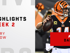 Every Andy Dalton throw | Week 2