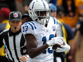 T.Y. Hilton turns short pass into 22-yard gain