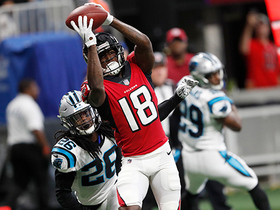 Calvin Ridley hauls in first NFL TD pass