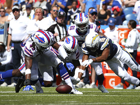 Poyer forces fumble, but Chargers hold on
