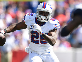 McCoy sprints into the open field for 27-yard gain