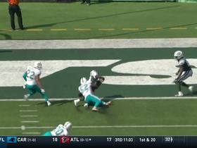 Bilal Powell makes leaping catch for 28-yard TD