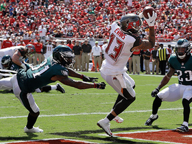 Ryan Fitzpatrick lasers a 4-yard TD pass to Mike Evans