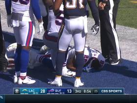 Uchenna Nwosu penalized for hit on Bills touchback