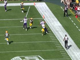 Rudolph turns short pass from Cousins into 23-yard gain