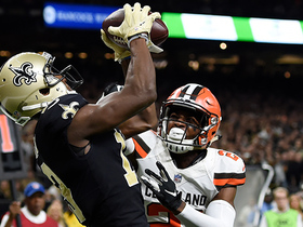 Michael Thomas powers through Browns defenders on 5-yard TD