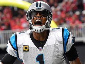 Cam Newton zips tight-window pass for 3-yard TD