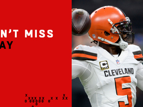Can't-Miss Play: Browns tie game on epic 47-yard TD, miss go-ahead XP