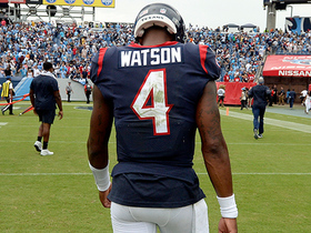 Deshaun Watson's pass takes too long, time expires after DeAndre Hopkins' catch