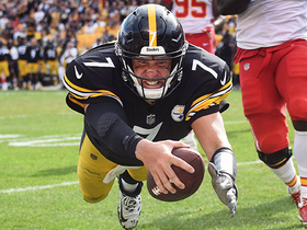 Big Ben uses wheels to run for 3-yard TD on fourth down
