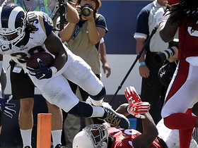 Todd Gurley beats Patrick Peterson to the pylon for 11-yard TD