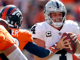 Von Miller bears down on Carr for third-down sack