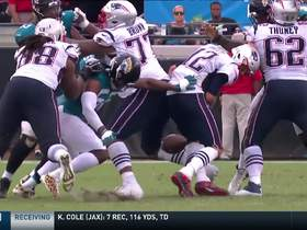 Dante Fowler comes up with HUGE strip-sack on Brady