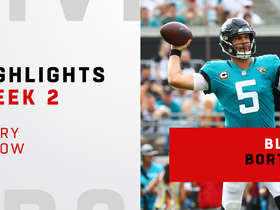 Blake Bortles' best throws | Week 2