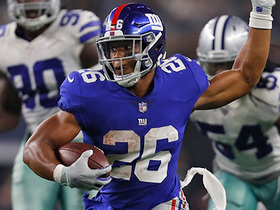 Saquon unleashes wicked spin move on 18-yard gain