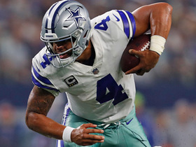 Deion Sanders: Credit Dak Prescott for a productive Cowboys offense in Week 2