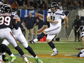 Janikowski launches 56-yard field goal before halftime