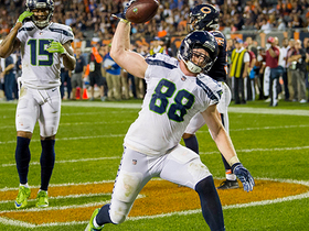 Will Dissly leaves open window for Wilson on second touchdown