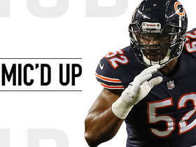 Mic'd Up: Mack in his home debut with Bears in Week 2