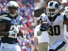 Better Week 3 fantasy option: Melvin Gordon or Todd Gurley?