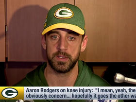 Rodgers 'concerned' about knee injury getting worse