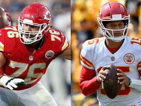 Laurent Duvernay-Tardif didn't know Patrick Mahomes had a baseball background