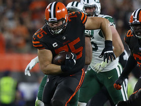 Bitonio turns Mayfield strip-sack into pure magic, but rush doesn't count