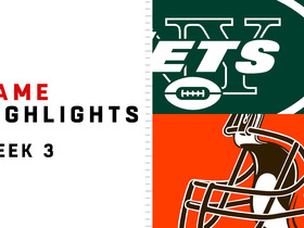 Jets vs. Browns highlights | Week 3